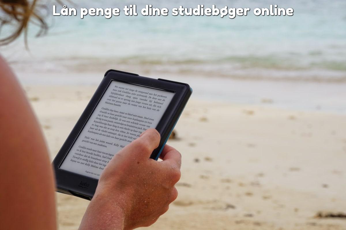 Lån penge til dine studiebøger online